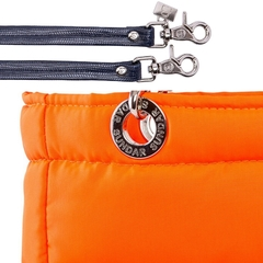 NEON ORANGE, TOP ZIPPER, SHOULDER BAG - buy online