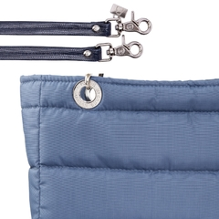 BLUE STEEL SUNDAR, TOP ZIPPER, SHOULDER BAG