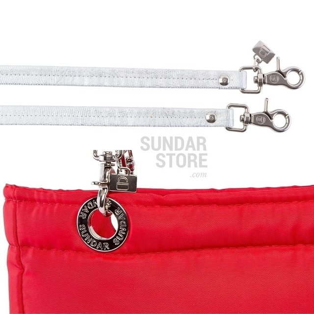 RED SUNDAR, TOP ZIPPER, SHOULDER BAG - Bolsas Sundar - Sundar Store
