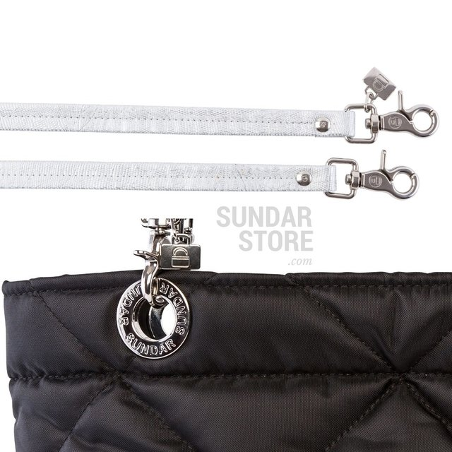 BLACK ROMBO SUNDAR ZIPPER BAG - online store