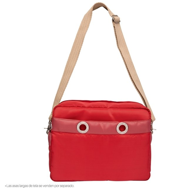 CROSS BODY MEDIANA CORAL C/MARSALA en internet