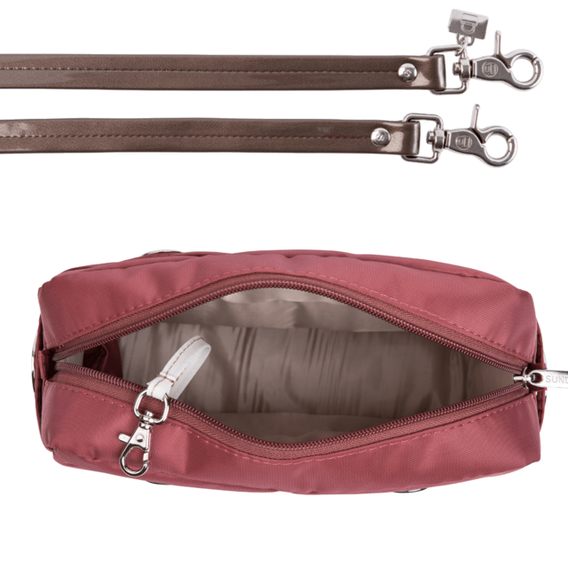 LAURA CROSS BODY, BURGUNDY - online store