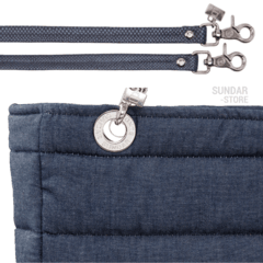 DENIM SUNDAR, TOP ZIPPER, SHOULDER BAG