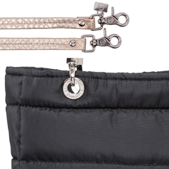 Image of BLACK SMALL SUNDAR ZIPPER BAG