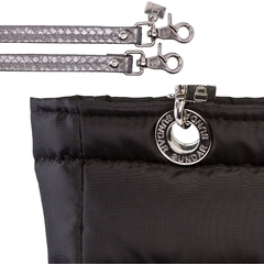 BLACK SUNDAR, TOP ZIPPER, SHOULDER BAG - Bolsas Sundar Originales