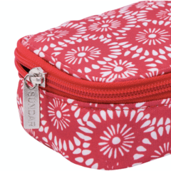 PENCIL CASE FLOWERS PATERN / CORAL - buy online