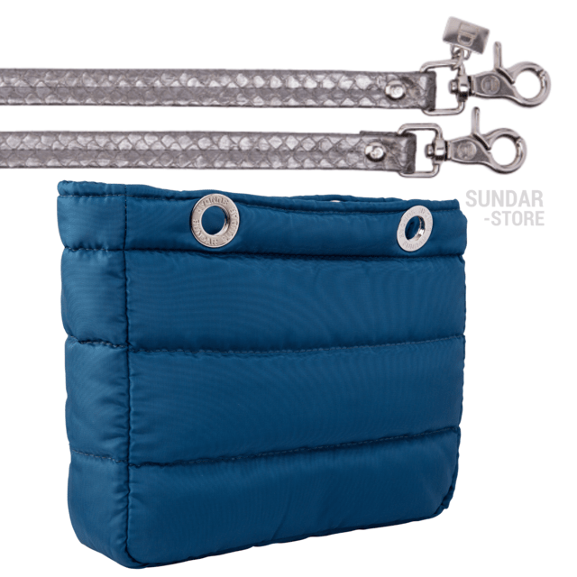 COBALT BLUE SUNDAR, TOP ZIPPER, SHOULDER BAG - Bolsas Sundar - Sundar Store