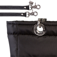 Image of BLACK SUNDAR, TOP ZIPPER, SHOULDER BAG