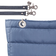 Image of BLUE STEEL SUNDAR, TOP ZIPPER, SHOULDER BAG