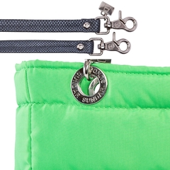 NEON GREEN, TOP ZIPPER, SHOULDER BAG - buy online
