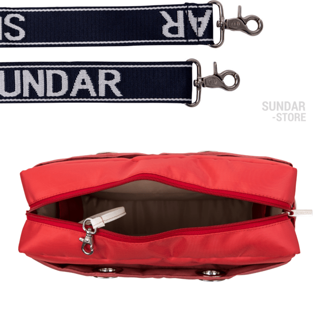 CORAL-MARSALA SUNDAR CROSS BODY MEDIUM - online store