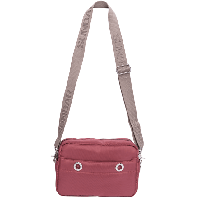 LAURA CROSS BODY, BURGUNDY