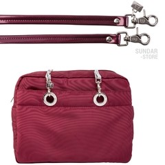 CROSS BODY MEDIANA GUINDA - Bolsas Sundar Originales