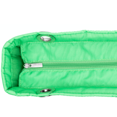 NEON GREEN, TOP ZIPPER, SHOULDER BAG on internet