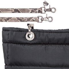 BLACK SMALL SUNDAR ZIPPER BAG - buy online