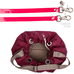 MARIA, SHOULDER OR CROSSBODY, CHERRY BAG - Bolsas Sundar Originales
