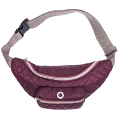ROMBOS WAIST BAG, PLUM