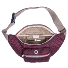 ROMBOS WAIST BAG, PLUM on internet