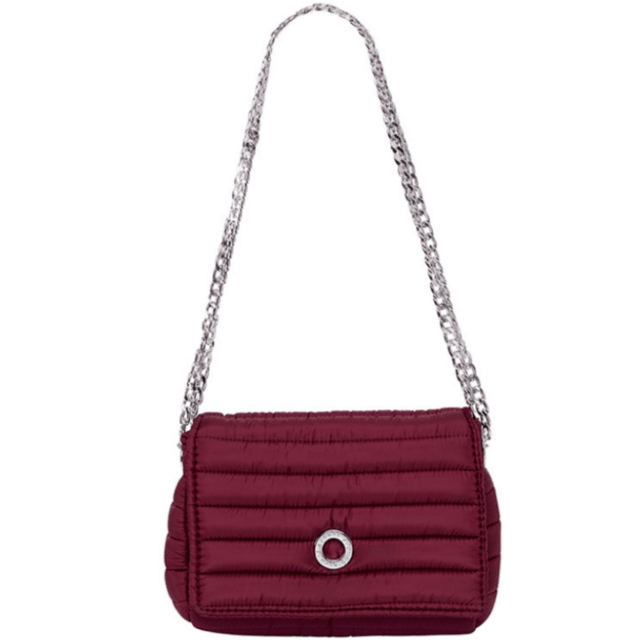 ANDREA CROSSBODY, CHAINE STRAP, CHERRY - buy online
