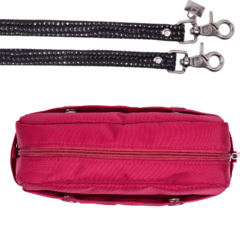 LAURA CROSSBODY, GRANATE - online store