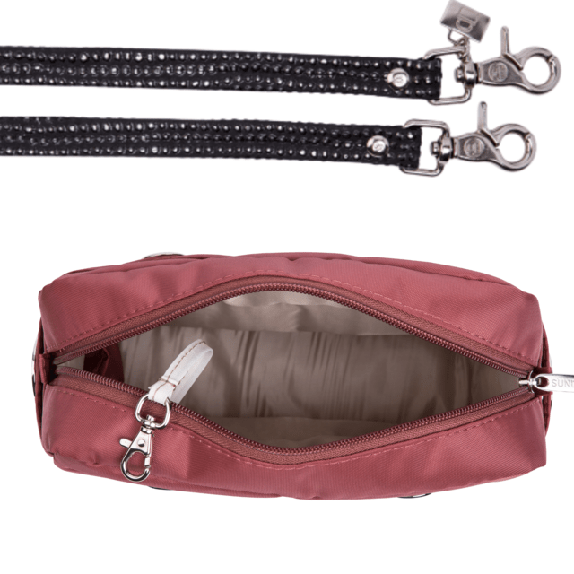 LAURA CROSS BODY, BURGUNDY on internet