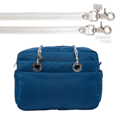 COBALT BLUE SUNDAR CROSSBODY MEDIUM - Bolsas Sundar Originales