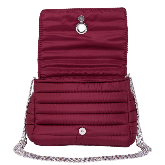 ANDREA CROSSBODY, CHAINE STRAP, CHERRY on internet