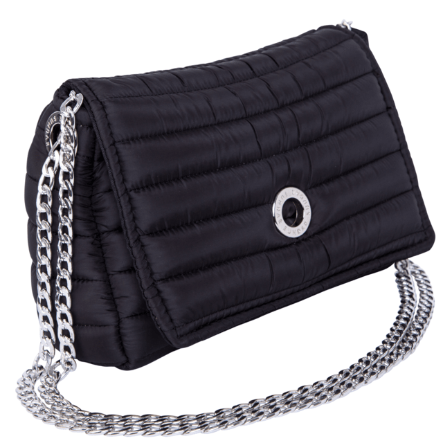 ANDREA CROSSBODY, CHAINE STRAP, BLACK