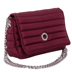 ANDREA CROSSBODY, CHAINE STRAP, CHERRY