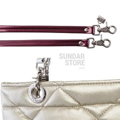 GOLDEN ROMBO SUNDAR ZIPPER METALIC BAG on internet