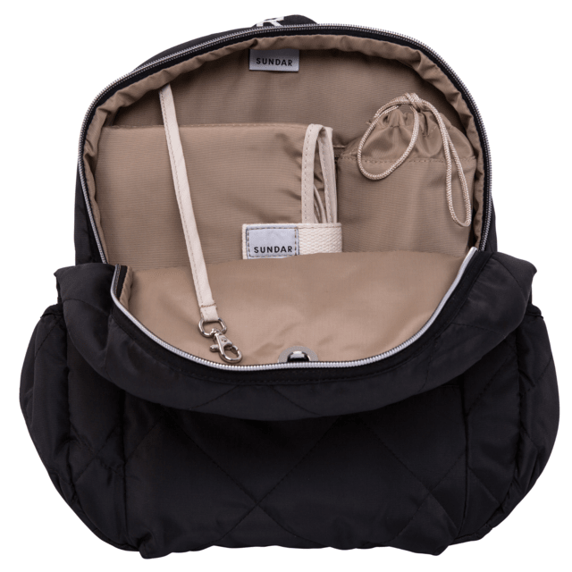 Image of SUNDAR BLACK DIAPER BAG