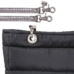 BLACK SMALL SUNDAR ZIPPER BAG on internet
