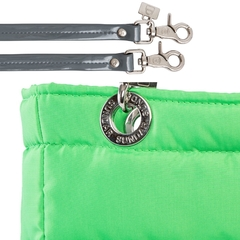 NEON GREEN, TOP ZIPPER, SHOULDER BAG - Bolsas Sundar Originales
