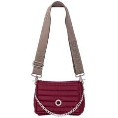 ANDREA CROSSBODY CHERRY WITH TWO STRAPS (CHAIN STRAP/ ADJUSTABLE STRAP) on internet