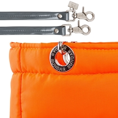 NEON ORANGE, TOP ZIPPER, SHOULDER BAG on internet