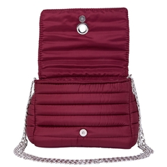 ANDREA CROSSBODY CHERRY WITH TWO STRAPS (CHAIN STRAP/ ADJUSTABLE STRAP) - online store