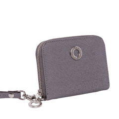SILVER MINI WOMAN WALLET