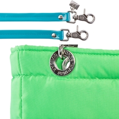 NEON GREEN, TOP ZIPPER, SHOULDER BAG - online store