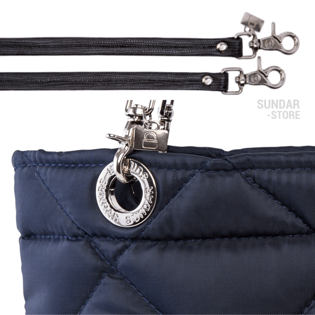 NAVY BLUE ROMBO SUNDAR ZIPPER BAG - buy online