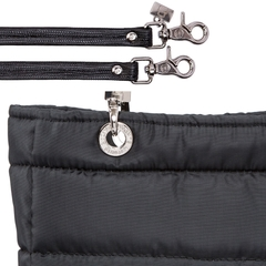 BLACK SMALL SUNDAR ZIPPER BAG - Bolsas Sundar Originales