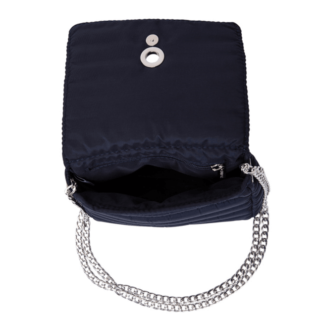 ANDREA CROSSBODY, CHAINE STRAP, NAVY BLUE - online store