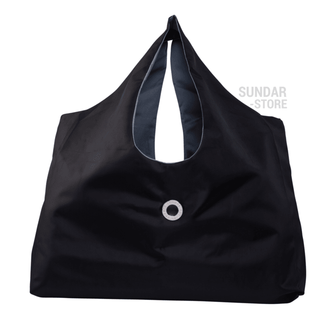 SUNDAR BEACH BAG,BLACK