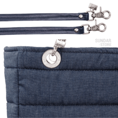 DENIM SUNDAR, TOP ZIPPER, SHOULDER BAG - buy online
