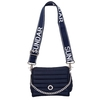 ANDREA CROSSBODY, CHAINE STRAP, NAVY BLUE (copia)