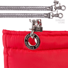 RED SUNDAR, TOP ZIPPER, SHOULDER BAG - Bolsas Sundar Originales