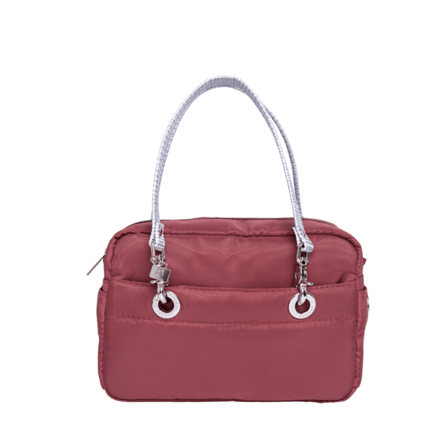 LAURA CROSS BODY, BURGUNDY - Bolsas Sundar - Sundar Store