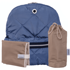 SUNDAR STEEL BLUE DIAPER BAG
