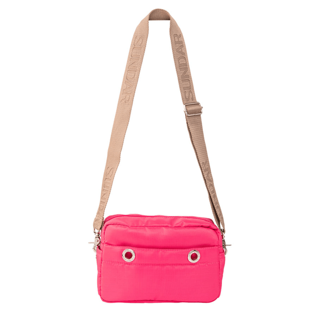 LAURA CROSS BODY, RUBIN RED