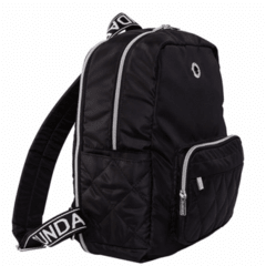 SUNDAR BACKPACK BLACK EXPANDABLE - Bolsas Sundar Originales