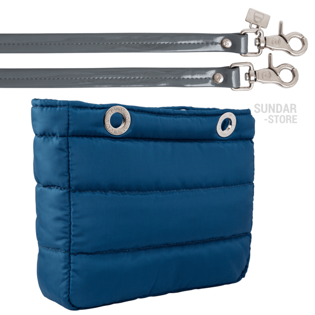 COBALT BLUE SUNDAR, TOP ZIPPER, SHOULDER BAG - buy online